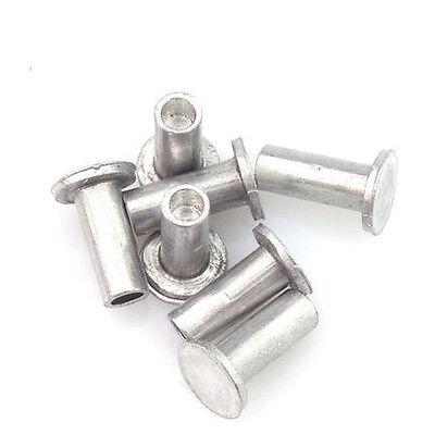 semi-round solid rivets semi-hollow pan aluminum rivet M6 8mm-30mm length |  eBay