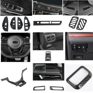 Carbon Fiber Interior Car Accessories Kit Cover Trim for Kia K5 Optima 2020 2021