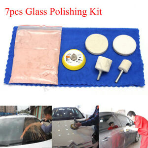 Back To Search Resultstools 7pcs Cerium Oxide Powder Car Glass Polishing Windscreen Scratch Remover