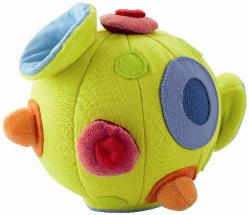 "NWT Haba Nubbi 5.7/"" Fabric Ball With Jingle Sound"