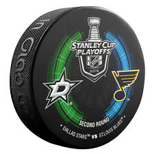 2016 Stanley Cup Playoffs Dueling Puck Dallas Stars / St. Louis Blues