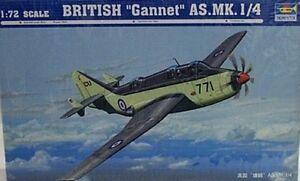 Trumpeter-1-72-British-Fairey-Gannet-AS-Mk-1-4-Model-Kit-1629