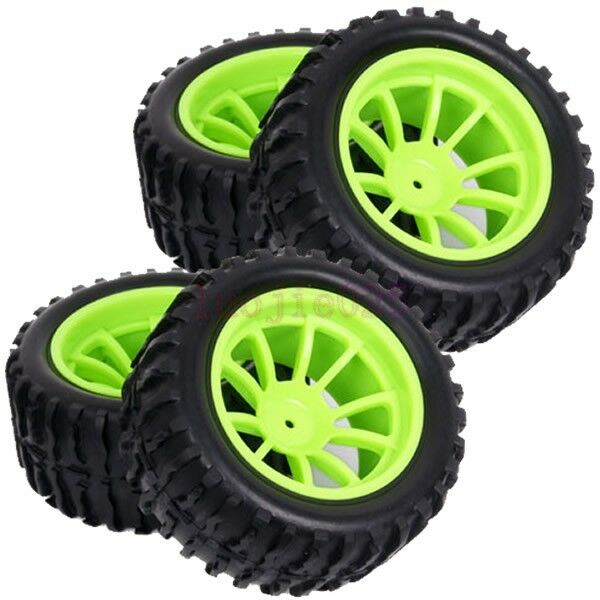 RC 1/10 Off-Road Monster Truck Tyre Tires Foam Rubber sponge insert Green 88018