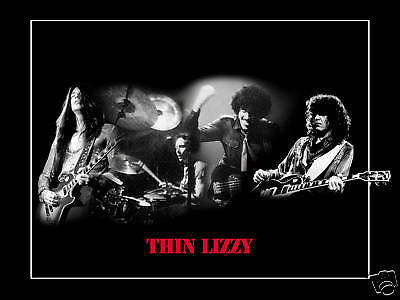 Thin Lizzy Poster Phil Lynott Wall Decor Phil Lynott Music Poster Gift for Friend