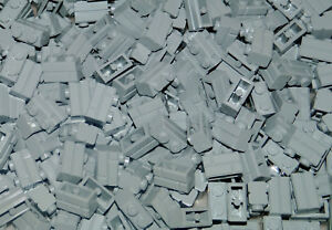 Baukästen & Konstruktion 10 x Lego Steine Mauersteine 1x2 grau 98283 NEU LEGO Bau- & Konstruktionsspielzeug