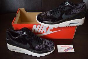 New Girl s Nike Air Max 90 Pinnacle QS Sz 6.5Y-7Y GS Black Glitter ... 18b098679