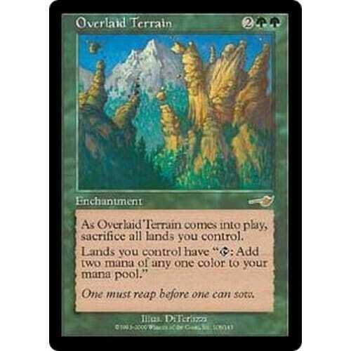 Overlaid Terrain Condition Excellent MTG NEMESIS