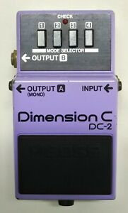 BOSS-DC-2-Dimension-C-Guitar-Effects-Pedal-Made-in-Japan-1986-41-Free-Shipping