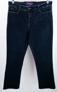 NYDJ-Not-Your-Daughters-Jeans-Dark-Blue-Denim-Bootcut-18-Lift-Tuck-Technology