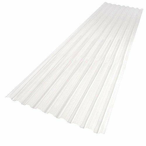 Roof Panel Suntuf 26 in X 6 FT Polycarbonate Virtually Unbreakable 20x  Stronger