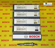 Mercedes-Benz 5 pcs. Glow Plug Set - BOSCH - 0250201039 / 80006 - NEW OEM MB