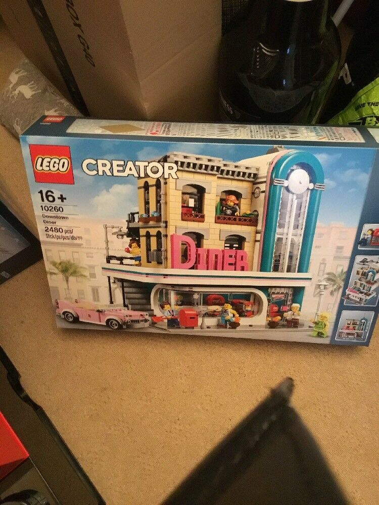 LEGO 10260 10260 10260 CREATOR EXPERT DOWNTOWN DINER 8a52f3