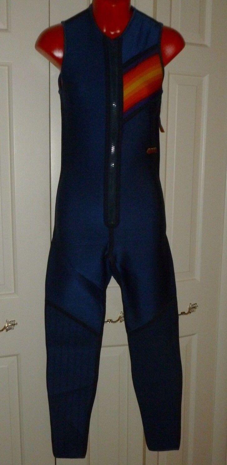 NEW.BARE.Water Sports.blueee.JOHN.Wetsuit.XS.Ultra Light.Sleeveless.Bodysuit.   154  the best online store offer