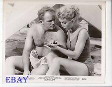 Gary Crosby barechested Barbara Eden VINTAGE Photo A Private's Affair