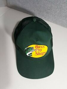 2549ba1493371 BASS PRO SHOPS GREEN TRUCKER S HAT - ONE SIZE FITS MOST - ADJUSTABLE ...