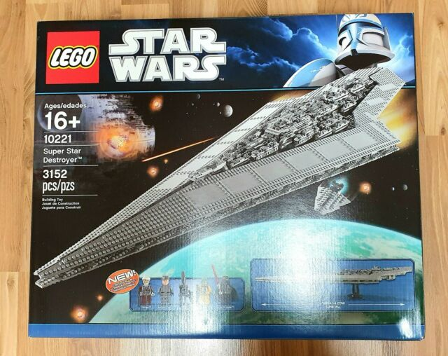 Lego Star Wars Super Star Destroyer (10221) Brand New in Factory Sealed Box