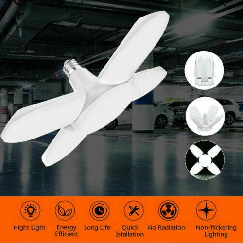 60W LED UV Glühbirne Desinfektionslampe E27 Garagenleuchte Sterilisator Lampe