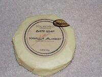 Tuscan Hills Vanilla Almond Bath Bar Round Soap 3.4 Oz/95g