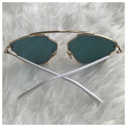 AYZA Katzenauge Cateye So Real Pop Sonnenbrille Damen Rosagold Verspiegelt