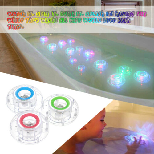 Waterproof Bath Tub Toy Water Kids Baby Children Bathtub Party Funny LED Light