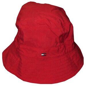 NEW-KIDS-BOYS-TOMMY-HILFIGER-REVERSIBLE-BEACH-SUN-BUCKET-HAT-CAP-BABY-3-9-M