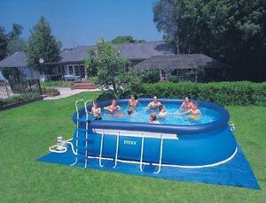 Piscina ovale autoportante intex 28192 549x305x107 cm - Accessori piscina fuori terra ...