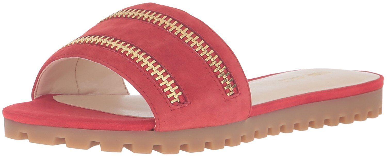Nine West Damenschuhe Schaffer Pick Suede Dress Sandale- Pick Schaffer SZ/Farbe. a44292