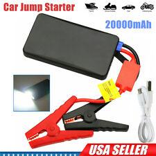 Portable 20000mah Car Jump Starter Mini Slim Engine Battery Charger Power Bank