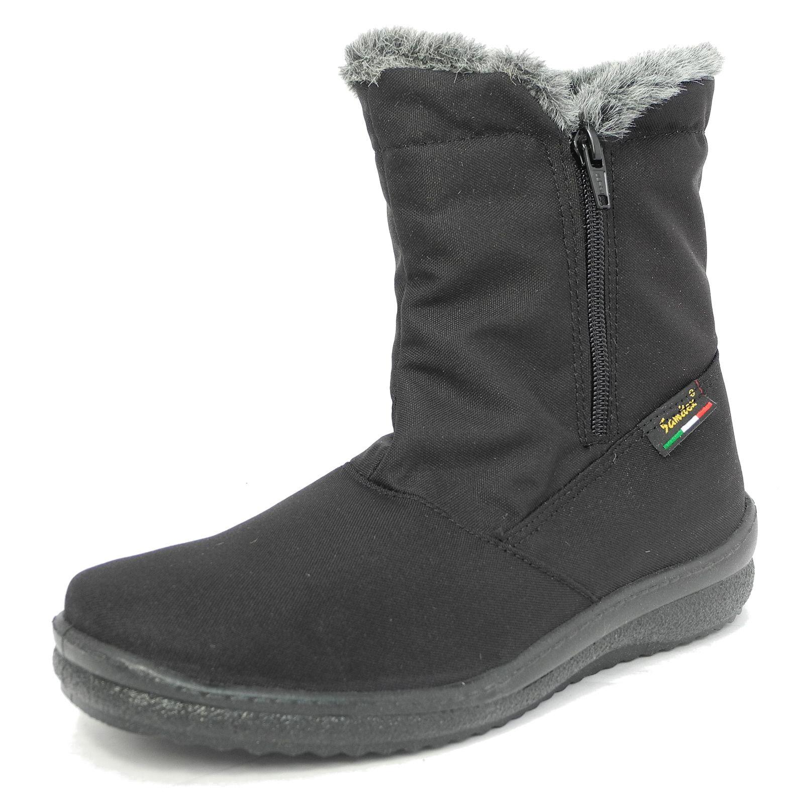 Señoras de de de mujer de piel forrada Impermeable Cálido Invierno botas De Nieve Negro 3 4 5 6 7 8 9  diseño único