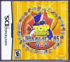 Top Trumps NBA All Stars RE-SEALED DS DSI XL LITE 3 3DS 2 2DS BASKETBALL GAME
