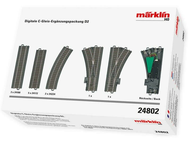 marklin 24802 DIGITALE CBINARIOcomplemento confezione d2 h0