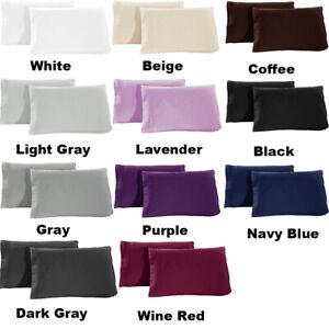 1800-Pillowcase-Set-Queen-King-Size-Set-of-2-pieces-Pillow-Cover-Case-Home