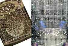90Cm Elegante Cortinas De Cuentas Cristal Cadena Grano Decoración Boda ambiente
