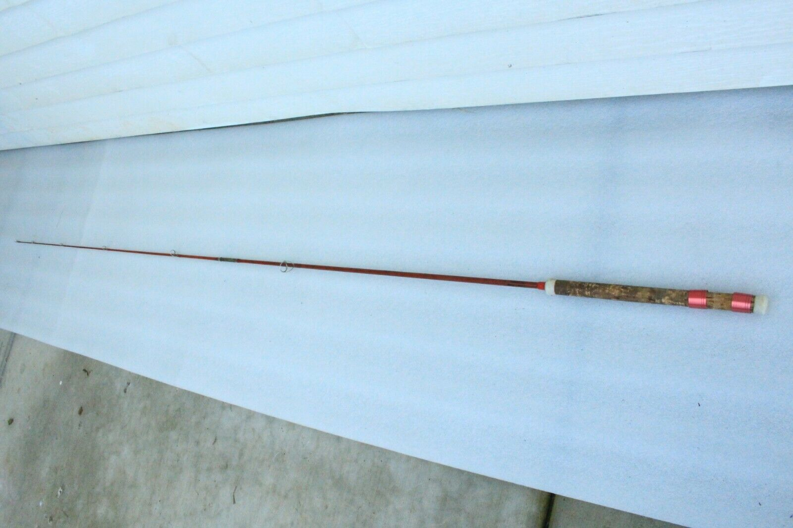 Powr-Kast by Phillipson T70 Lures to 1 2 Oz 7'  Fly Fishing Pole Vintage Rod Rare  the best after-sale service