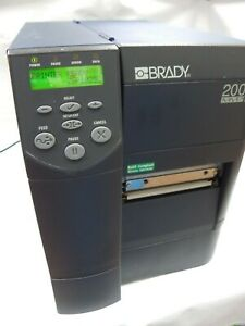 Brady-200-MVP-USA-MADE-Parallel-Serial-Direct-Thermal-Label-Barcode-Printer