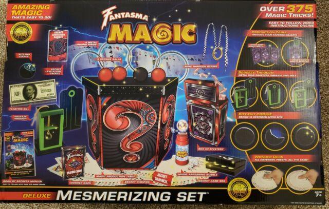 Fantasma Deluxe Mesmerizing Magic Set-375 Tricks