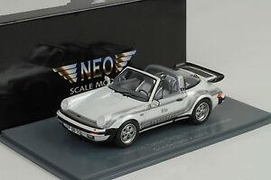 1982 Porsche 930 Turbo Targa B&b Moonracer Blanc Métallique 1:43 Neo