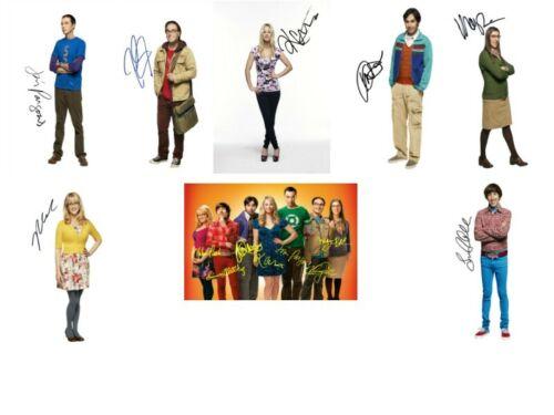 "The Big Bang Theory Signed Autograph PRINTS Bundle Joblot Collection 6x4/"" Gift"
