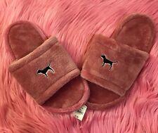 Victoria's Secret Pink* NWT Soft Begonia Slippers Size Medium