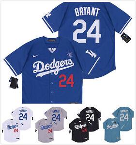 Details about Men's Los Angeles Dodgers #24 Kobe Bryant Replica Jersey Pick Color/Size