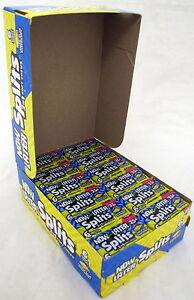 Details about Now and Later Soft Lemon Blue Raspberry Split Candy Chews 24  ct (6-pc) Bars Bulk
