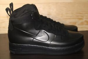 best website a855b d21bc Details about Nike Air Force 1 AF1 Foamposite Cup Mens SZ 8.5 Triple Black  [AH6771-001] New