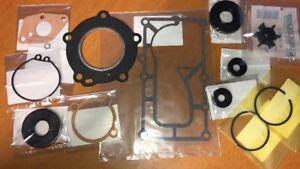 Powerhead Rebuild Kit /& Impeller 3.3HP Mercury Mariner Outboard Gaskets /& Piston