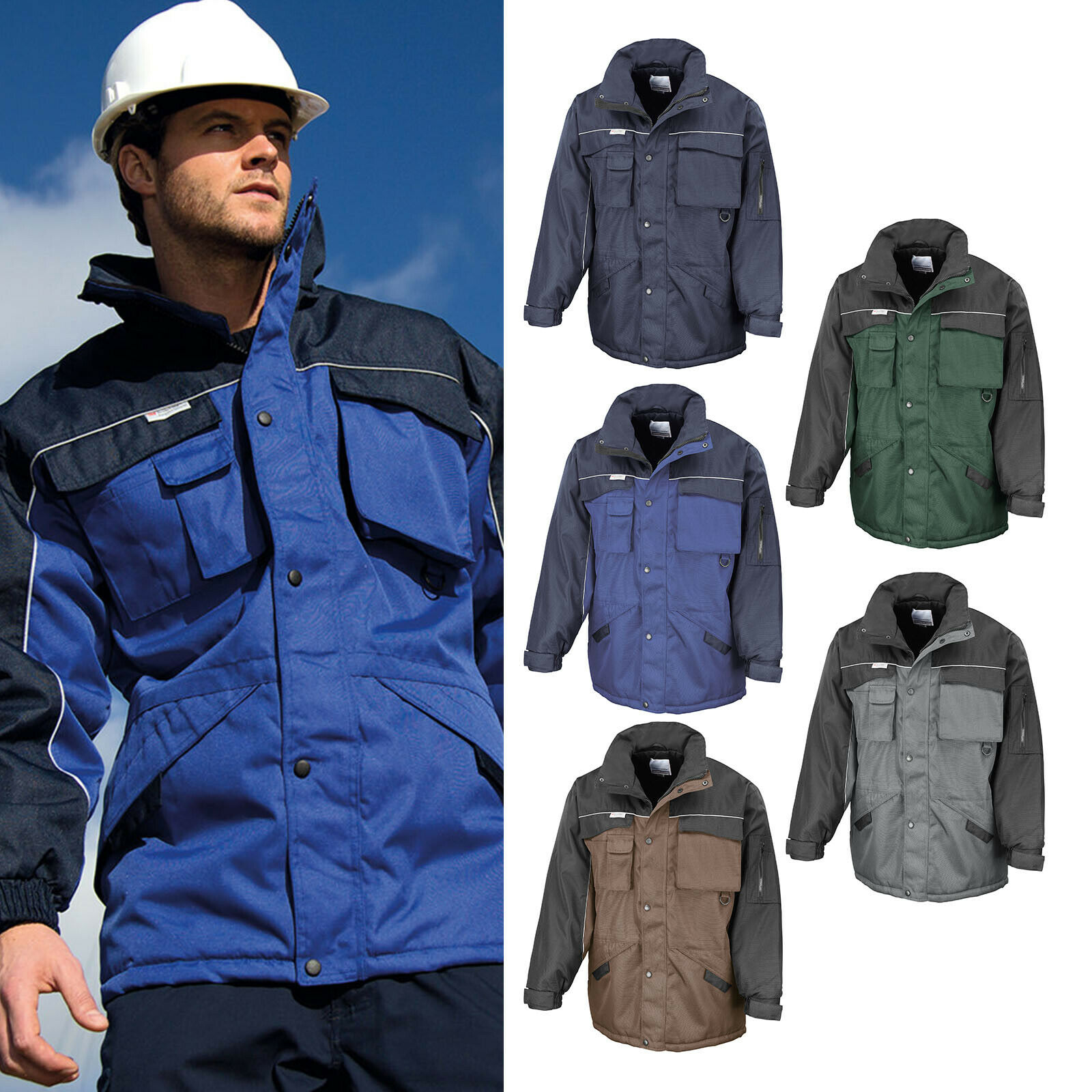 Result Work-Guard Heavy Duty Combo Coat R072X