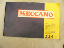 MECCANO CATALOGUE 2/3/4 approx 1974