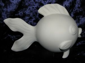Ceramic-Bisque-Ready-to-Paint-Goldy-the-Gold-Fish