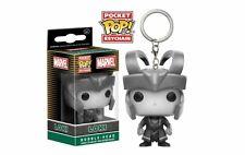 Marvel Loki B&W Funko Pocket Pop Keychain