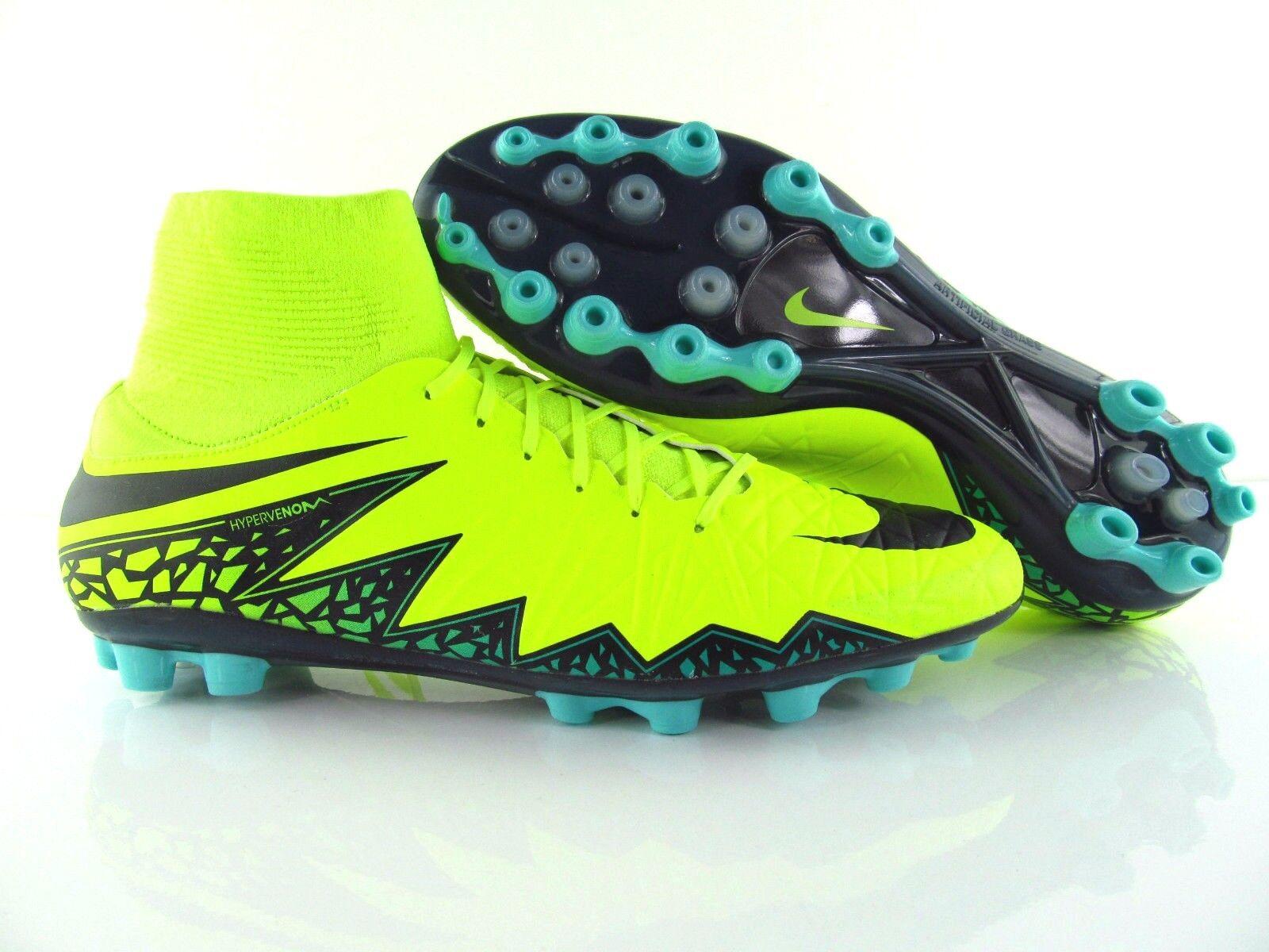 Nike hypervenom ptieneal II df AG-R fútbol soccer Neon  voltios us_12 uk_11 eur_46  tienda de venta en línea
