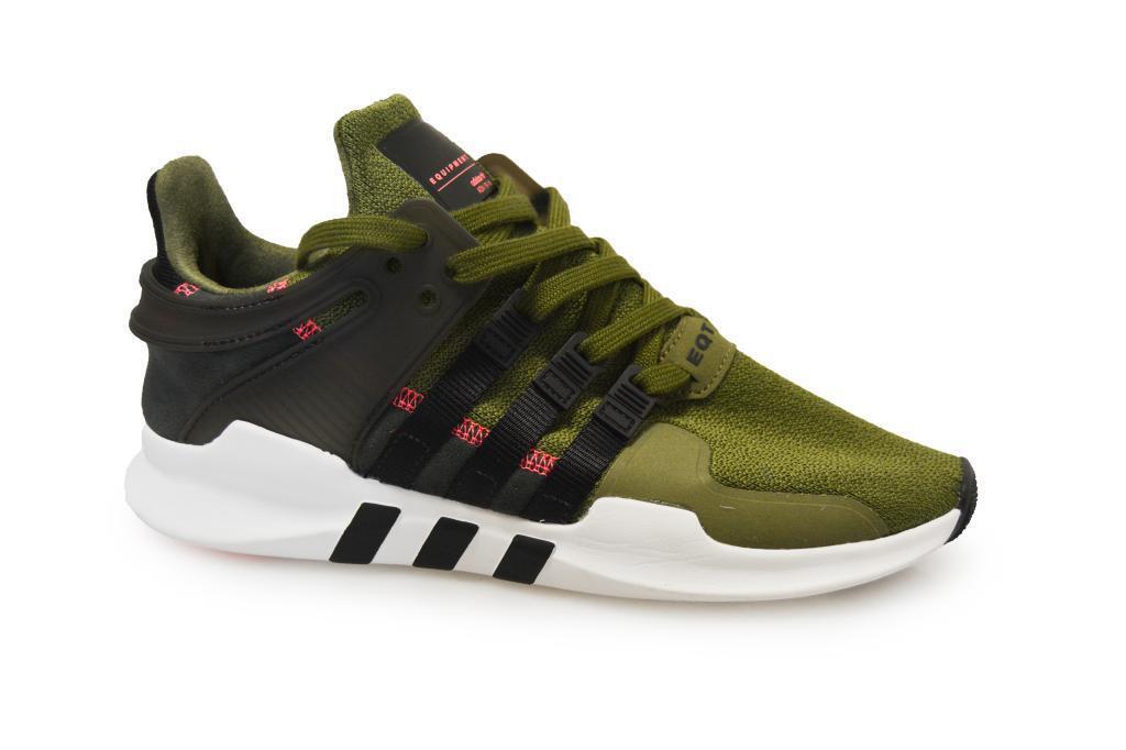 Herren Adidas Equipment Unterstützung Adv - s76961 - grün schwarze Turnschuhe