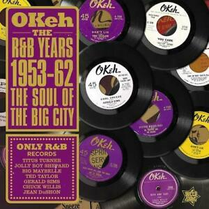 OKEH THE R&B YEARS 1953-62 The Soul of The Big City - New & Sealed LP Vinyl